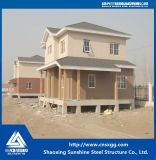 주문을 받아서 만들어진 크기를 가진 2층 가벼운 강철 주택 건설