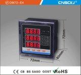 Dm72-E4プログラム可能な多機能の電力のメートル