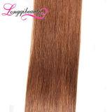 Нарисованные двойником бразильские людские дешевые выдвижения волос ленты