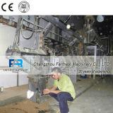 水の供給のための単一ねじ蒸気のペレタイジングを施す押出機