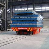 ボイラー工場で使用されるモーターを備えられたDCによって動力を与えられる柵の転送のトロリー