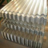 Feuille ondulée de toiture de fer galvanisée par Z60 d'ASTM A653