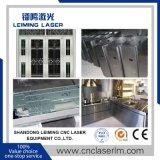 Cortador Lm3015hm3 del laser de la fibra de las placas y de los tubos de metal de la cubierta completa