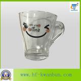 Vaso de cristal de la taza de té de la taza de cerveza del vaso de la sonrisa