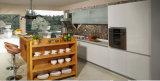 Gabinete de cozinha UV lustroso elevado (zx-073)