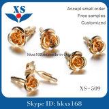 高品質316のステンレス鋼の金のカフスボタン