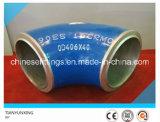 Cotovelo do aço de liga dos encaixes de tubulação do ANSI B16.9 de A335 P91