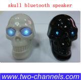 Nuevo rectángulo de sonidos del altavoz de Bluetooth del cráneo, mini altavoz del Portable 3.5, altavoz sin hilos de Víspera de Todos los Santos Bluetooth