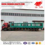 家畜の輸送のための半3つの車軸倉庫棒トレーラー