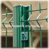 Frontière de sécurité enduite de treillis métallique de PVC de ventes chaudes