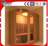Stanza di conservazione coperta di erica di legno di lusso di sauna (formato può essere personalizza)