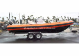 Aqualand 29FT 9m Military Rib Boat 또는 Rigid Inflatable Diving Boat (RIB900)