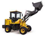 Do trator movente da máquina 3ton da terra carregador pequeno da parte dianteira do carregador