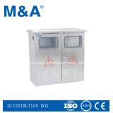Gabinete de distribuição de energia ao ar livre IP66, caixa de distribuição elétrica