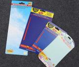 Tarjetas de encargo de la caída del papel de imprenta