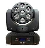 7X10W RGBW 4 in-1 LED Stadiums-Effekt-Lichtstrahl-bewegliche Köpfe