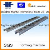 Galvanisierte StahlkonstruktionC/Z Purlin-Rolle, die Maschine bildet
