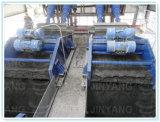 Parti incastrata di un mattone in aggetto dell'oro/rame/zinco/ferro che asciugano schermo, setacciante macchina