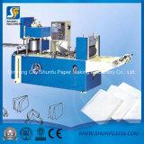 Nuevo tipo máquina de papel plegable de la servilleta del tejido de tocador de la máquina del proceso del papel