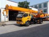 Venta caliente grúa montada pequeño carro de 10 toneladas hidráulico