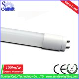 0.6m 9W 100lm/W 유리 T8 LED 관 빛