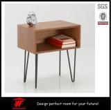 جديدة خشبيّ جوزة سرير جانب طاولة [كفّ تبل]