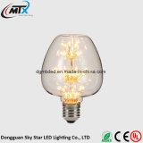 MTX新しいLEDの球根レトロE27 3Wエジソン型LEDの球根の蝋燭ライトランプ110V/220V G125の蝋燭LEDの蝋燭の電球LED