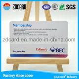 Tarjeta del PVC de la calidad de miembro de la tarjeta del PVC de la impresión en offset