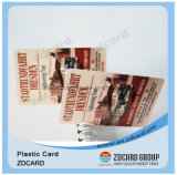 Cartões do material plástico do ISO 9001