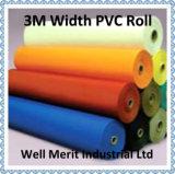 encerado laminado PVC do rolo da tela da largura de 3m