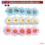 Juwelen van het Haar van de Bloem van het Doopsel van de Hoofdband van Hairband de Elastische Bloemen (P3035)