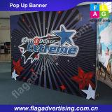 Außen- oder Innen Gerade Stoff Pop Up Display für Werbung oder Ausstellung