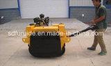 Compresor del rodillo de camino del tambor en tándem de la gasolina de Honda mini con el precio de fábrica (FYL-S600)