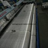 Fibre discontinue tissée par fibres de verre de C-Glace de bateau de bonne qualité