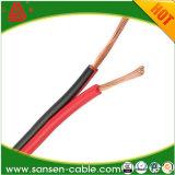 Transparentes Lautsprecher-Kabel 12AWG sprechen Draht