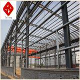 プレハブの軽い鉄骨構造の倉庫を構築すること容易