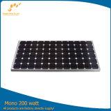 painel solar de categoria A do picovolt da eficiência elevada da pilha