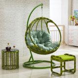 옥외 가구 안뜰 그네 고리버들 세공/등나무 그네 /Outdoor 등나무 성숙한 거는 계란 그네 의자 (D005)