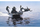 Aqualand 12FT 8persons Semi-Rigid Inflatable Boat/Rescue/Military/Fishing (385)