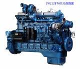 12 cilindro, 330kw, motor diesel para el conjunto de generador, motor chino de Shangai Dongfeng
