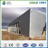 Entrepôt préfabriqué de structure métallique