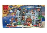 Block-Spielwaren der Piraten-Serien-Entwerfer-Fort-Rob-Kaserne-366PCS
