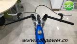 3.75Lガスの着かれるフレームによってモーターを備えられる自転車青いカラー新しい