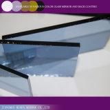 Colorare il vetro riflettente blu dello specchio di vetro dello specchio di vetro
