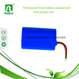 18650 batterie Li-ion de 2s1p 7.4V 2200mAh pour la couverture Heated