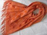Wolle-sonniger schnitzender Schal des 30% Kaschmir-70%