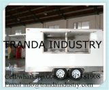 Mobile Food Street Portable Cocktail Fast Display Cart Kiosk