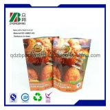 Sacchetto di plastica della chiusura lampo del commestibile per l'imballaggio dell'alimento per animali domestici