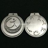 Medallas redondas de plata modificadas para requisitos particulares del metal para la venta