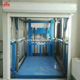 Prix vertical de levage de marchandises de levage de cargaison de longeron de guide d'entrepôt résidentiel hydraulique